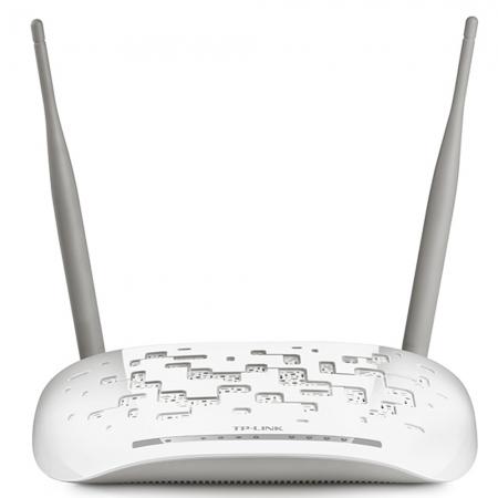 Modem Roteador TP-Link Wireless N ADSL2+ de 300Mbps TD-W8961N