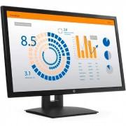 """Monitor HP V24b LED 23,6"""" Widescreen, Full HD, IPS, VGA, Display Port, Ajuste de Altura - 2XM34AA"""