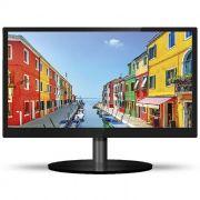 "Monitor Pctop 19"" LED Slim Preto / VGA / HDMI / Vesa - MLP190HDMI"