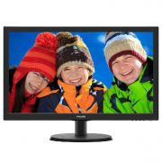 "Monitor Philips 21.5"" Led 223v5lhsb2 Rgb/hdmi Full Hd"