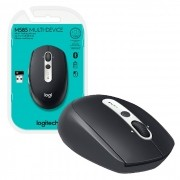 Mouse Bluethooth Logitech M585 Multi-Device, Tecnologia Flow Unifying, 1000DPI, Preto