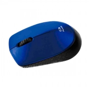 Mouse C3Tech C3Plus M-W17BL, Wireless, 1000 DPI, Azul