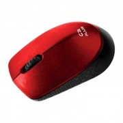 Mouse C3Tech C3Plus M-W17RD Wireless 1000 DPI Vermelho