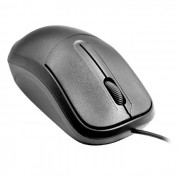 Mouse C3Tech C3Plus MS-35BK Padrão USB 1000 DPI Preto