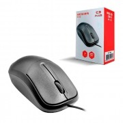 Mouse C3Tech C3Plus MS-35BK, USB, 1000 DPI, Preto