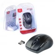 Mouse C3Tech M-W012BK, Wireless, 1600 DPI, Preto