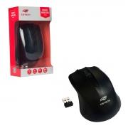 Mouse C3Tech M-W20BK, Wireless, 1000 DPI, Preto