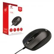 Mouse C3Tech MS-30BK, USB, 1000 DPI, Preto