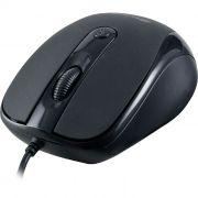 Mouse Fortrek OM103 1600DPI Óptico USB Preto - 43531
