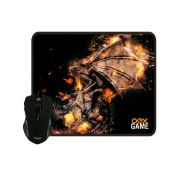 Mouse Gamer Arena+Mouse Pad Oex MC102