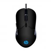 Mouse Gamer HP M280, USB, RGB, 2400 DPI, Preto