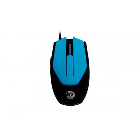 Mouse Gamer OEX Blaze MS311, USB, 3200DPI, Azul e Preto