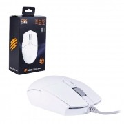 Mouse Gamer OEX Orium MS323, USB, 3200 DPI, LED Rainbow, 6 Botões, Branco