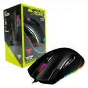 Mouse Gamer Patriot Viper V551, 12000 DPI, RGB, USB