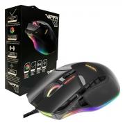 Mouse Gamer Patriot Viper V570 Blackout, 12000 DPI, RGB, USB, Sensor Laser - Ajuste de Peso