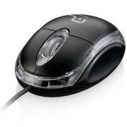 Mouse Multilaser MO179 Óptico Classic 1200dpi Box USB Preto