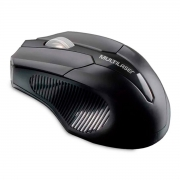 Mouse Multilaser Wireless 2.4 GHz Preto - MO264