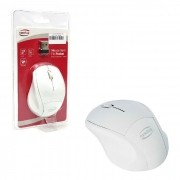 Mouse NewLink Pocket MO225, Wireless, 1200DPI, Branco