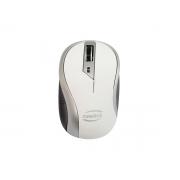 Mouse Newlink Wireless Wave Cinza/branco MO112