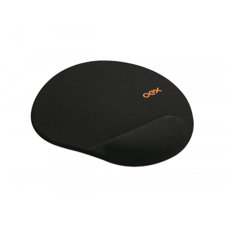 Mouse Pad C/apoio Em Gel Oex Preto MP200