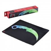 Mouse Pad Gamer PCYes FPS KNIFE, Antiderrapante, Estilo Speed, 500x400x3mm - 34677