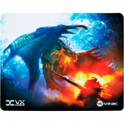 Mouse Pad Gamer Vinik VX Gaming Battle, C/ Base Emborrachada 250x210x2mm - 34244