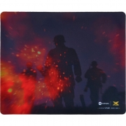 Mouse Pad Gamer Vinik VX Gaming War, C/ Base Emborrachada 320X270X2mm - 34246