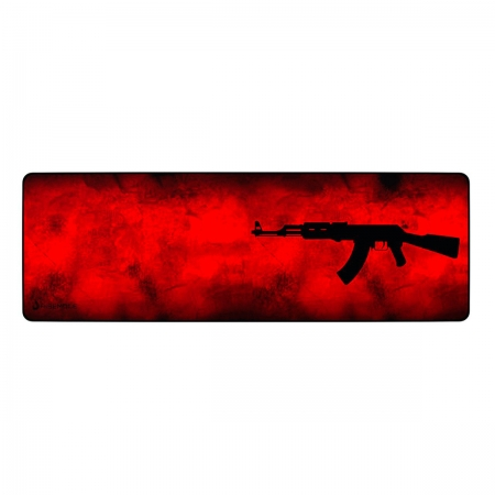 Mouse Pad Rise Mode AK47 Red Extended - RG-MP-06-AKR