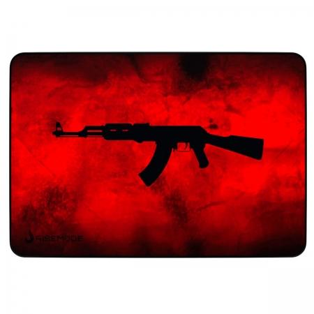Mouse Pad Rise Mode AK47 Red Grande - RG-MP-05-AKR