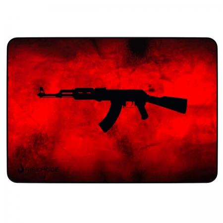 Mouse Pad Rise Mode AK47 Red Médio - RG-MP-04-AKR