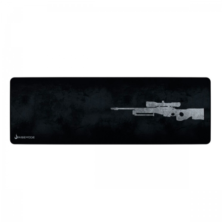 Mouse Pad Rise Mode Sniper Grey Extended - RG-MP-06-SPG