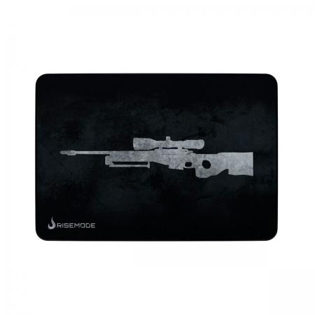 Mouse Pad Rise Mode Sniper Grey Médio - RG-MP-04-SPG