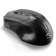 Mouse Sem Fio 2.4 Ghz 1600 Dpi Preto Usb Mo221 Multilaser