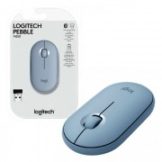 Mouse Wireless Logitech Pebble M350, 1000 DPI, Unifying, Azul
