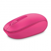 Mouse Wireless Microsoft 1850, Rosa - U7Z-00062