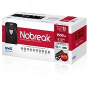 Nobreak SMS Manager Net4+ 1500VA Bivolt, Saída 115V - 27296 - Preto