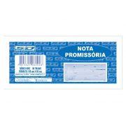 Nota Promissória Pequeno, 50 Folhas, Contém 20 Unidades, São Domingos - 6092