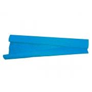 Papel Crepom 48 Cm x 2 M, Contém 40 Folhas VMP - Azul Celeste