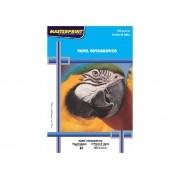 Papel Foto Glossy, Brilhante Branco 180g A4, Pacote C/ 50 Folhas, Masterprint - 302010004