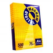Papel Sulfite Magnum A4 (210x297) 75gr Caixa C/10 Resmas 500 Folhas
