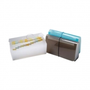 Pasta Sanfonada Cheque 31 Divisórias e Fechamento C/ Elástico Polibras - Cristal - 918/17