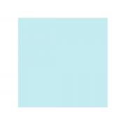 Placa de E.V.A. Glitter Pastel 2.0 mm, 40 x 60 cm, Pacote c/ 5 Folhas, Make+ - Azul Céu Primavera
