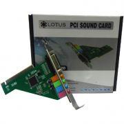 Placa de Som PCI 5.1 Canais PCI015 GV