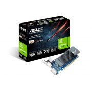 Placa de Vídeo 1GB Asus Geforce GT 710 DDR5 64 Bits - GT710-SL-1GD5