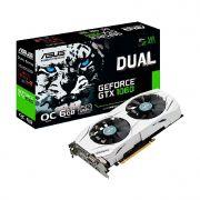 Placa de Video 6gb Asus Geforce Gtx 1060 Dual Series Oc Edition Ddr5 192 Bits - Dual-gtx1060-o6g