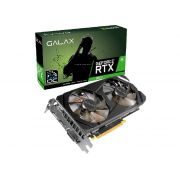 Placa de Video 6GB RTX2060 Galax 1Click Oc G6 192B 26NRL7HPX7OC