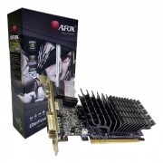 Placa de Vídeo AFOX GeForce 210, 1GB, DDR3, 64 Bits, Low Profile, HDMI/DVI/VGA - AF210-1024D3L5-V2