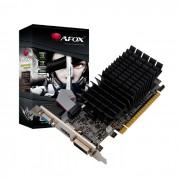 Placa de Vídeo AFOX Geforce G210, 1GB,  DDR3, 64 Bits Low Profile, HDMI/DVI/VGA - AF210-1024D3L5-V3