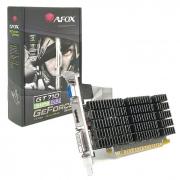 Placa de Vídeo Afox GeForce GT710, 2GB, DDR3, 64 Bits, Low Profile, HDMI/DVI/VGA - AF710-2048D3L7