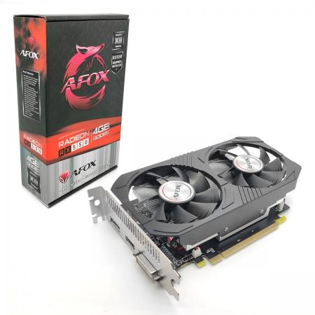 Placa de Vídeo Afox Radeon RX550, 4GB, GDDR5, 128 Bits, HDMI/DVI/DisplayPort - AFRX550-4096D5H4-V5